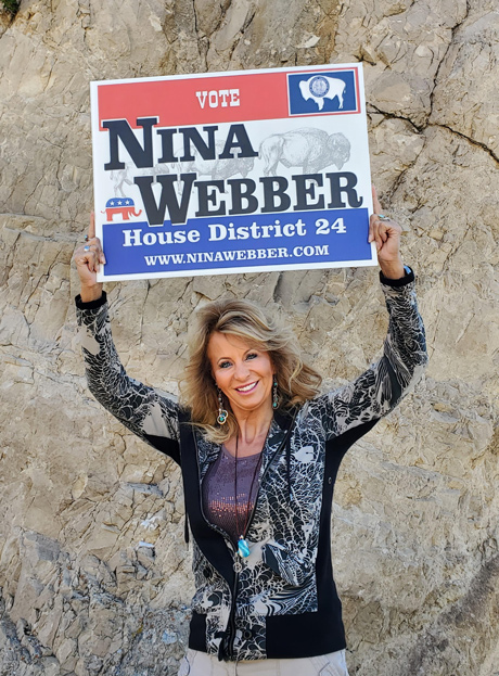Nina Webber for Wyoming House of Representatives District 24